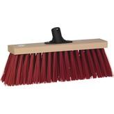 Vikan bezem, blank hout, rode vezels, 36 cm