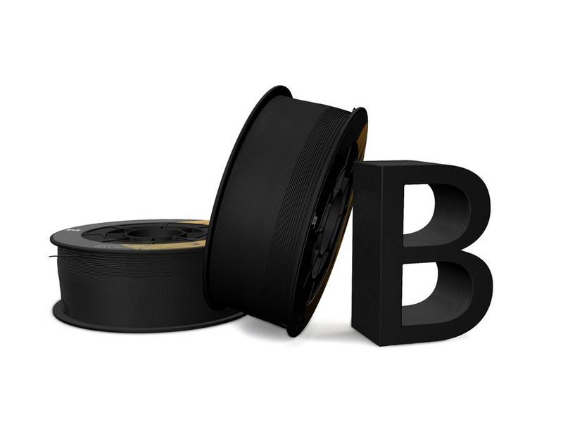 BQ PLA BQ 1.75 mm 1 kg - Coal Black