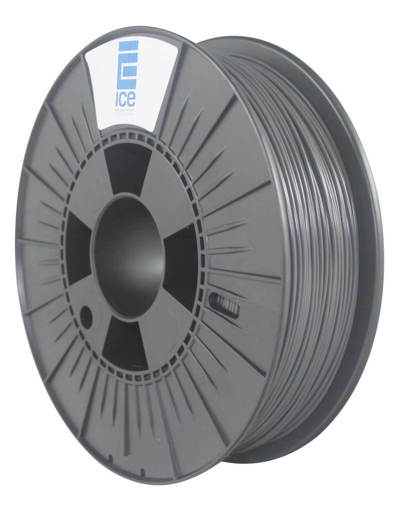 "Ice Filaments ICE ABS Filament ""Gentle Grey"""