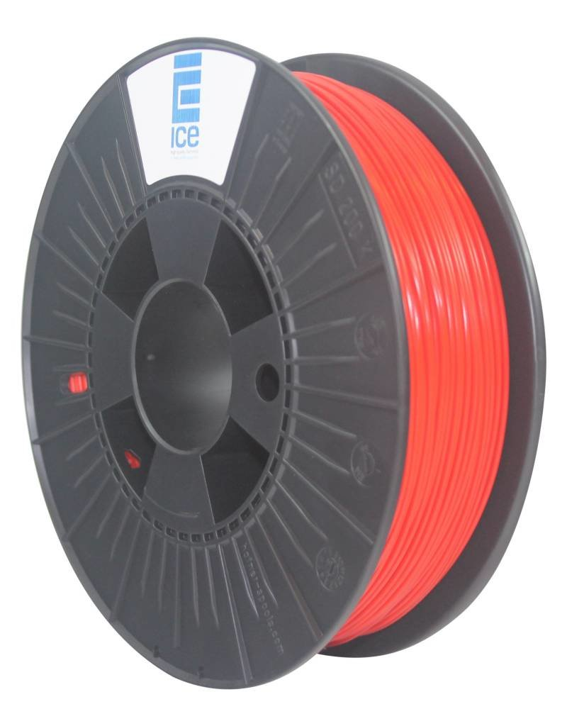 """Ice Filaments ICE ABS Filament """"Romantic Red"""""""