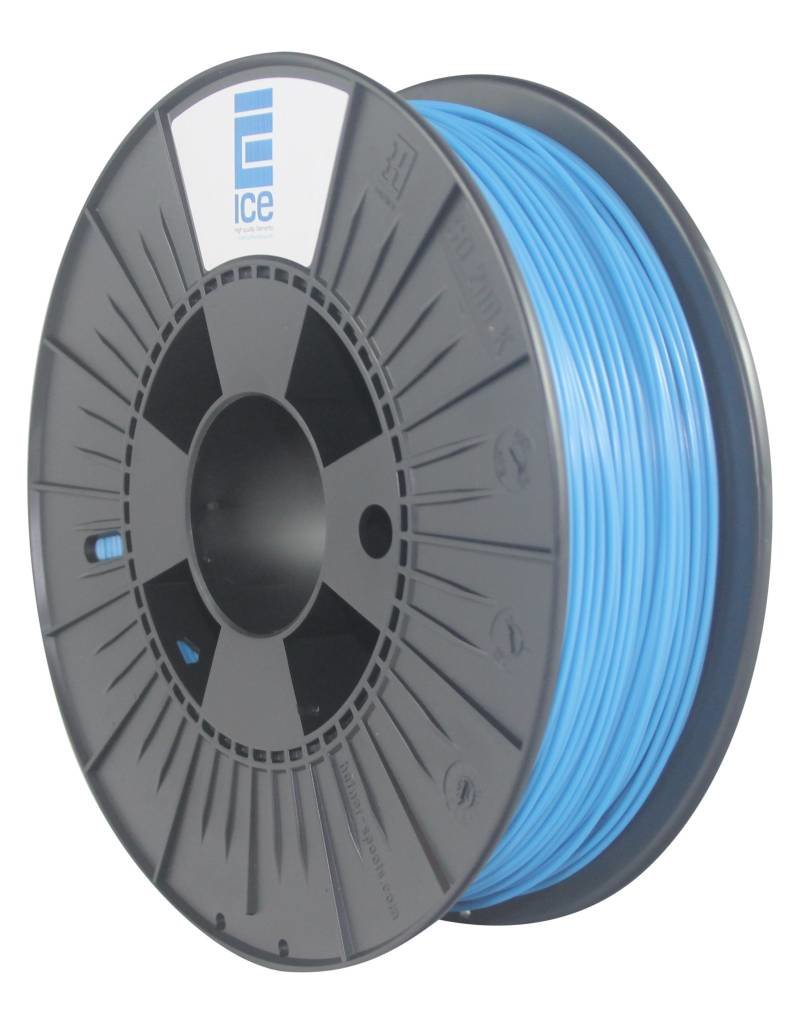 """Ice Filaments ICE ABS Filament """"Bold Blue"""""""