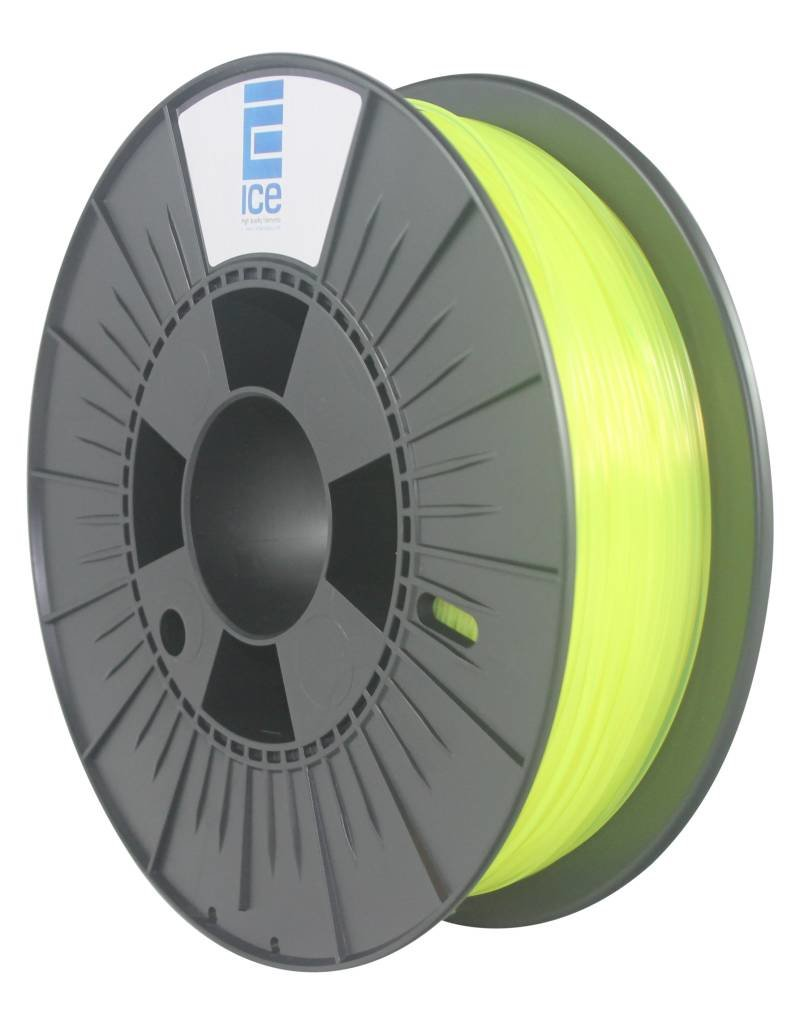 """Ice Filaments ICE ABS Filament """"Fluo Young Yellow"""""""