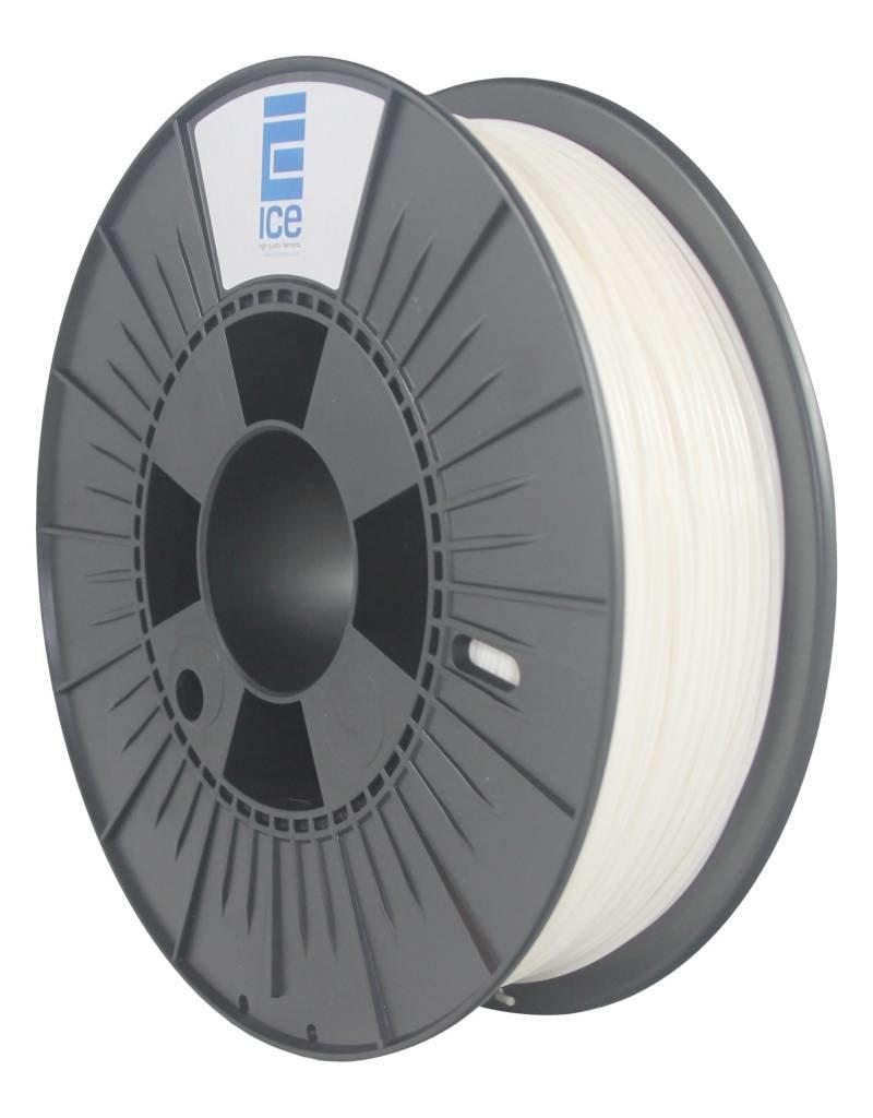 "Ice Filaments ICE PLA Filament ""Wondrous White"".  2.85 mm"