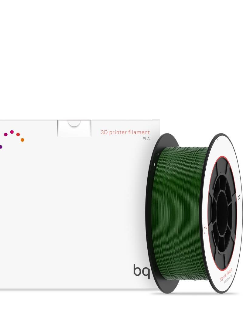 BQ PLA BQ 1.75 mm 1 kg - Bottle Green
