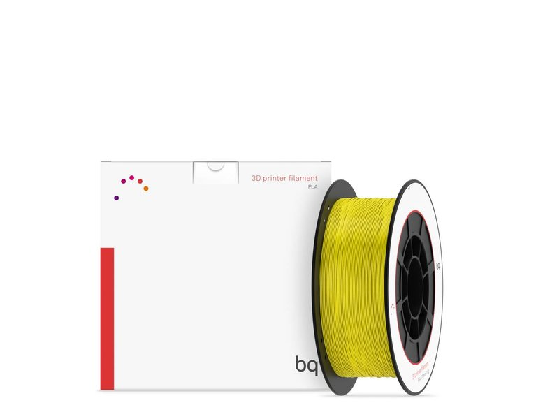 PLA BQ 1.75 mm 1 kg - Sunshine Yellow