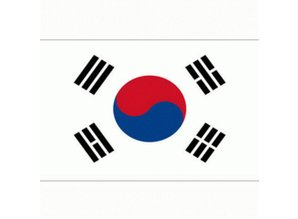Vlag Zuid Korea