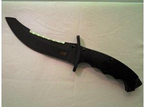 Spyderco mes Warrior Black Blade in H1 staal