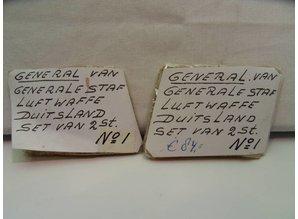 Duitsland oud 1940 - 1945 General Luftwaffe Generale staf