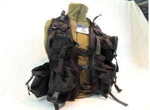 Ops vest Zwart Assault vest Web-tex