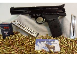 Smith & Wesson Smith & Wesson Pistool Kaliber 22 LR Model 22A-1,Klein  Kaliber Pistool.