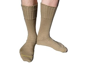 Leger Sokken Kaki-Beige 45-46