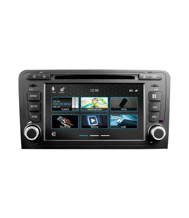 Dynavin N7-A3: Navigationsgerät für Audi A3