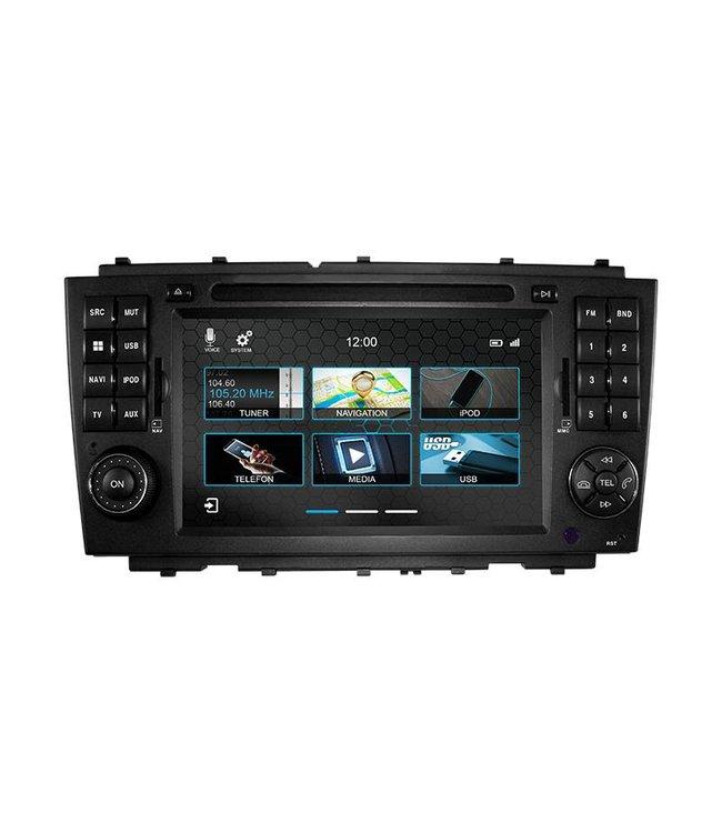 Dynavin N7-MBC: Navigationsgerät für Mercedes C-Klasse und CLC