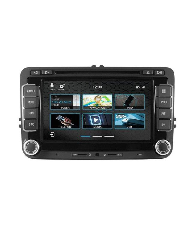 Dynavin N7-V7: Navigationsgerät für VW, Skoda und SEAT