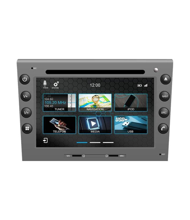 Dynavin N7-PSs: Navigationsgerät für Porsche Boxster, 911, Carrera, Cayman