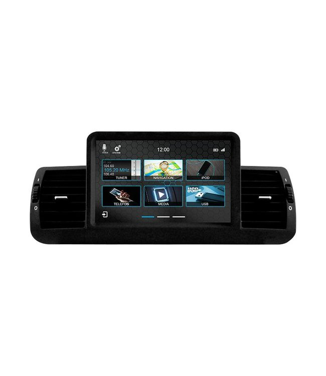 Dynavin N7-E8X: Navigationsgerät für 1er BMW