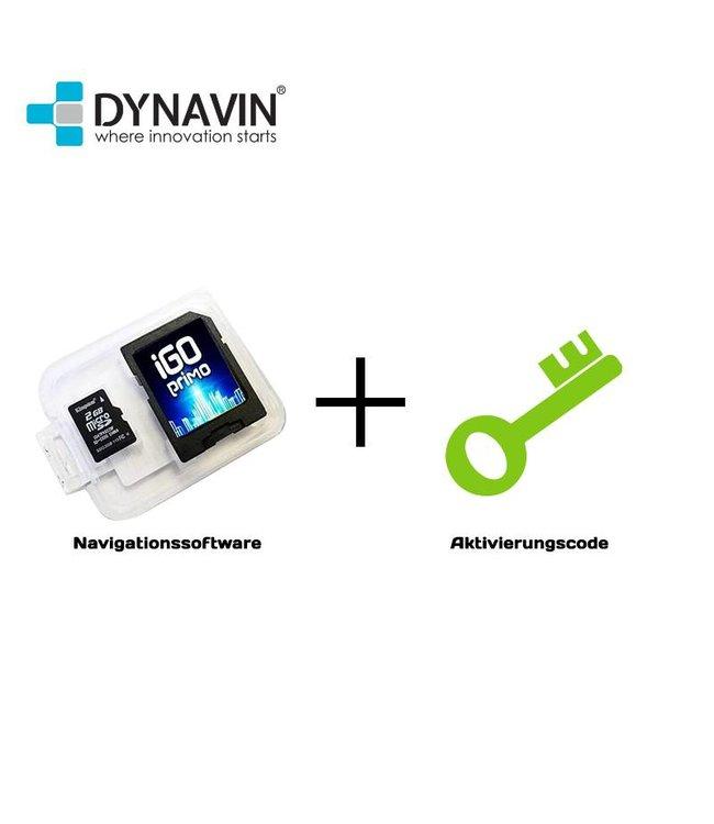 Dynavin Aktivierungscode + Navigationssoftware