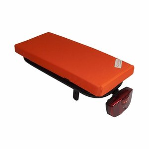 Hooodie Bagagedragerkussen Cushie Orange