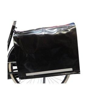 de Poort Dubbele Krantentas 80L Zwart