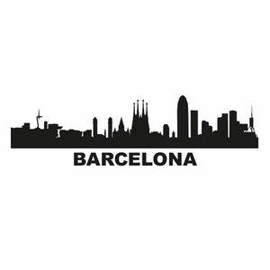 Beck Dubbele Fietstas Classic Barcelona