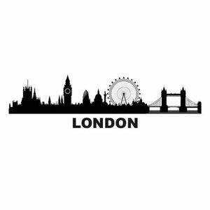 Beck Dubbele Fietstas Classic London