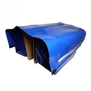 de Poort Dubbele Krantentas 80L Blauw