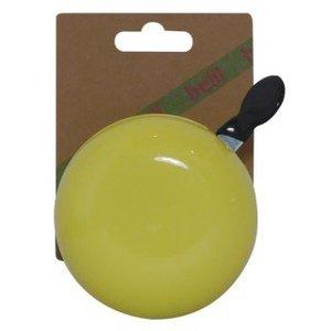 Belll Fietsbel Ding Dong 80 mm pastel geel
