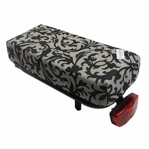 Hooodie Bagagedragerkussen BIG Cushie Decoration Black/White