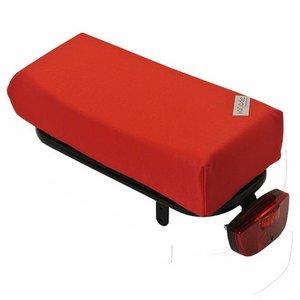 Hooodie Bagagedragerkussen BIG Cushie Red