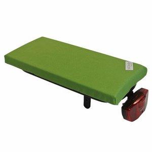 Hooodie Bagagedragerkussen Cushie Olive Solid