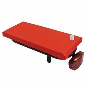 Hooodie Bagagedragerkussen Cushie Red
