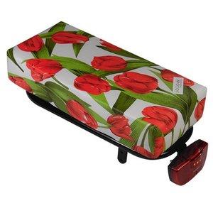 Hooodie Bagagedragerkussen BIG Cushie Tulips Red