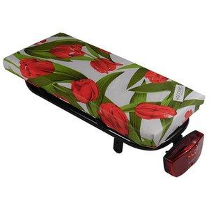 Hooodie Bagagedragerkussen Cushie Tulips Red