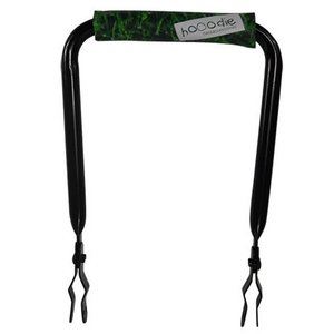 Hooodie Rugsteun zwart met Grass rugkussentje