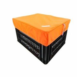 Hooodie Fietskrat Hoes Large Orange