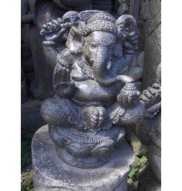 Eliassen Ganesha in lotus is 41cm