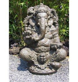 Eliassen Ganesha im Lotus ist in 2 Größen erhältlich