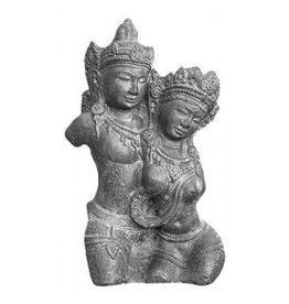 Rama und Shinta Büste