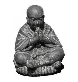 Eliassen Bild Shaolin Monk in 3 Dimensionen saluting