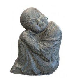 Eliassen Kindermonnik zittend boeddistisch