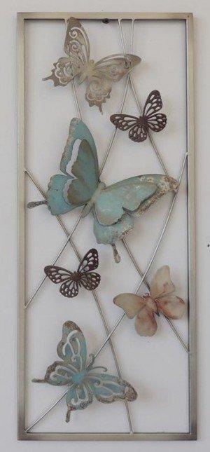 Aan De Muur Decoratie.Wand Decoratie Vlinders 1 Eliassen Home Garden Pleasure