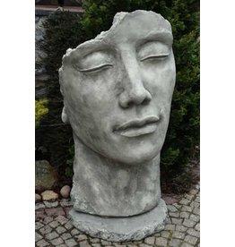 Eliassen Stenen beeld gezicht Man