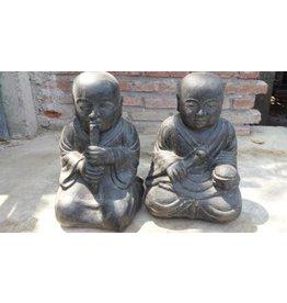 Eliassen Monk children twins buddhist