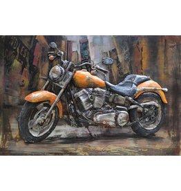 Eliassen Metal 3d painting Harley 3 120x80cm