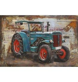 Eliassen Metall 3d Malerei Hanomag 120x80cm