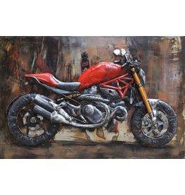 Eliassen Metalen 3d schilderij Racer6 120x80cm