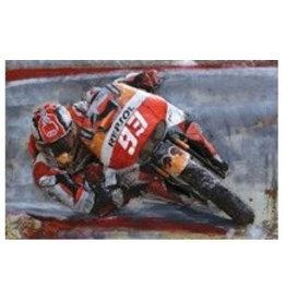 Eliassen Metalen 3d schilderij MotoGP 120x80cm