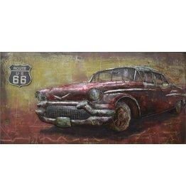 Eliassen 3D painting metal 70x140cm Fifties