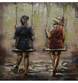 Eliassen Metal 3d painting Swings