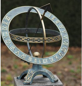 Eliassen Plate sundial bronze